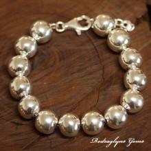 Silver Orb Bracelet 12mm