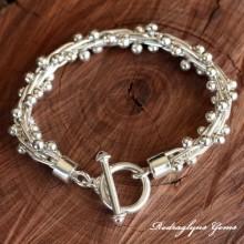 Silver Spratling Bracelet