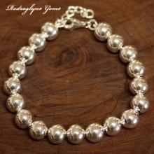Silver Orb Bracelet 10mm