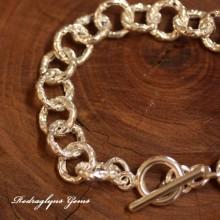 Embossed Belcher Bracelet