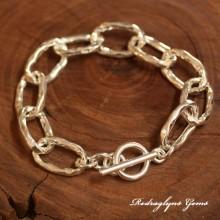 Glamour Hammered Bracelet