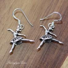 Silver Dancer Earrings