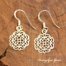 Silver Small Filigree Earrings