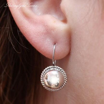 Rope Drop Earrings - 3 Sizes