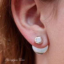 2 in 1 Earring Design