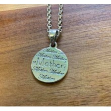 Mother Daughter Friends Pendant