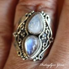 Moonstone Ring SZ 10
