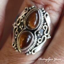 Tiger Eye Ring SZ 9