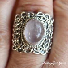 Rose Quartz Ring SZ 8