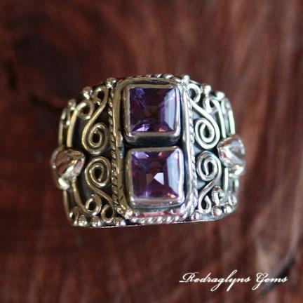 Amethyst Ring SZ 7