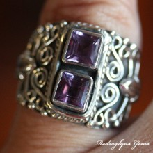 Amethyst Ring SZ 7