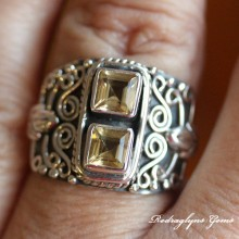 Citrine Ring SZ 9