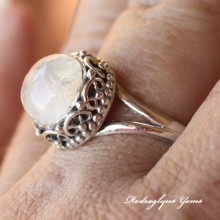 Moonstone Ring Size 11