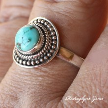 Turquoise Ring Size 11