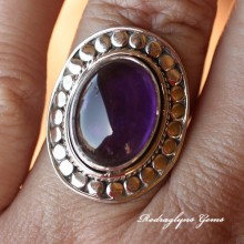 Amethyst Ring Size 8