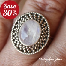 Moonstone Ring Size 10