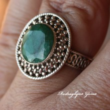 Emerald Ring Size 8