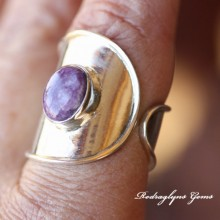 Charorite Ring Size 9
