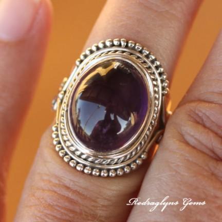 Amethyst Ring Size 7
