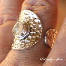 Rutilated Quartz Ring Size 10