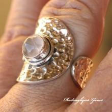Rose Quartz Ring 9