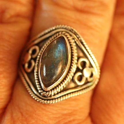 Labradorite Ring Size10