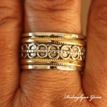 Silver Spinner Ring
