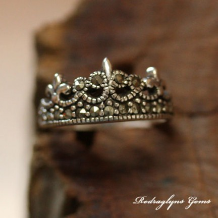 Silver Crown Ring
