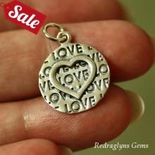 Silver Love Heart Pendant