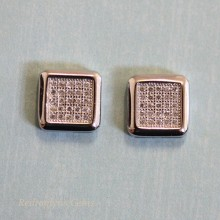 Micro Pave CZ Studs