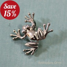 Silver Frog Pendant