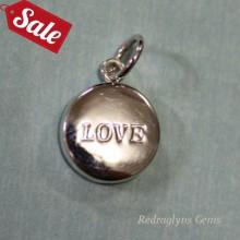 Silver Love Pendant