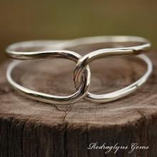 Silver Bangle SOLID Design
