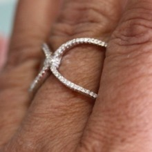 Silver Ring CZ