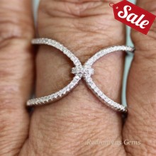 Silver Ring CZ