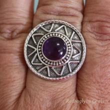 Amethyst Ring SZ 8