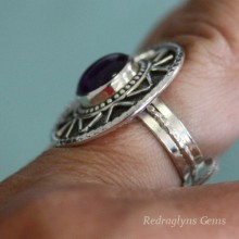 Amethyst Ring SZ 8