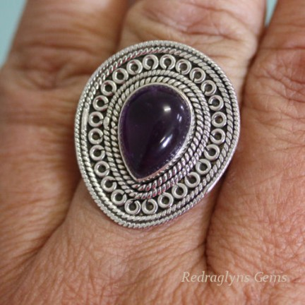 Amethyst Ring SZ 9